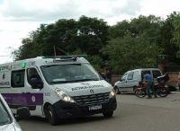 Un joven sufrió graves heridas en un accidente de tránsito