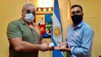 Álvarez Pinto se reunió con el Centro de excombatientes de Malvinas