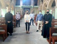 María Ana Baretto se reunió con referentes religiosos de Villa de Merlo