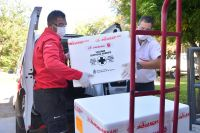 San Luis: Llegan 9000 dosis más de vacunas contra el COVID-19