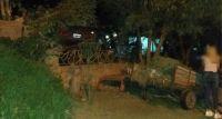 """Traslasierra: Manejaba borracho, se salió de la ruta, """"voló"""" y se estrelló en la casa de un vecino"""
