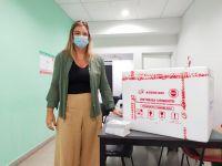 Se recibieron 600 dosis más de la vacuna Sputnik V en la Villa de Merlo