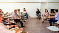 Turismo de la provincia acordó acciones con la Facultad de Turismo y Urbanismo de Villa de Merlo