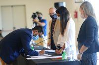 Villa de Merlo recibirá más de 80 millones desde provincia para obra pública