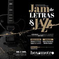 Fusión de Letras y Jazz esta noche en Hexámetro