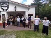 """Cocineros Merlinos se reunieron con Luis """"Piri"""" Macagno"""