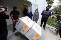 San Luis: Llegaron 4.500 vacunas más y suman 80.000 las dosis que recibió la provincia