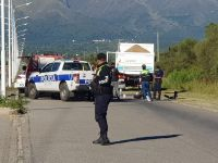 Grave accidente en la Ruta 5 en cercanías del ingreso al barrio 272 Viviendas: una persona fallecida