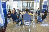 Zabala Chacur se reunió con intendentes de los departamentos Junín y Chacabuco para avanzar en el plan de obras con municipios