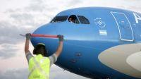 Cerca de 245 mil dosis de Sinopharm llegan al país en un vuelo de Lufthansa