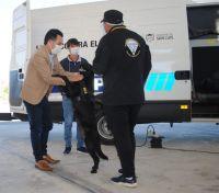Lucha contra el narcotráfico: presentaron nuevos equipos y tecnología