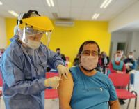 Más vecinos del noreste provincial recibieron su segunda dosis de la vacuna contra el Coronavirus