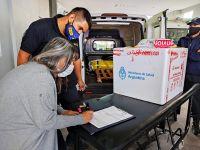 San Luis recibió 7.200 primeras dosis de la vacuna Sputnik V