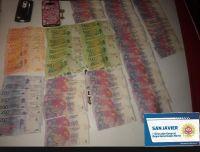 Detuvieron a un joven que había robado 22 mil pesos de un local