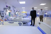 Alberto Rodríguez Saá inauguró el hospital que se destinará a la atención de pacientes con COVID-19