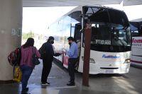 Aumento del 35% en el transporte interurbano de pasajeros