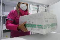 Llegaron las 11.700 vacunas de Sinopharm