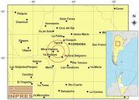 Tembló traslasierra con epicentro en Mina Clavero