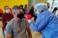 Coronavirus: convocaron a 600 personas para vacunarse en Villa de Merlo