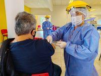 En San Luis 300 mil personas ya recibieron al menos una dosis de la vacuna