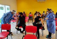 Más de 2600 personas de entre 40 y 50 años recibirán la primera dosis de Sinopharm