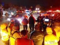 Bomberos de Villa de Merlo y Carpintería se sumaron a la búsqueda de Guadalupe