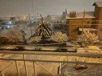 Histórica nevada en Córdoba capital