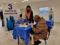 Sábado de vacunación en San Luis: más de 5.000 convocados