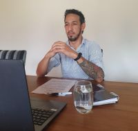 Matías Herrera encabeza una de las listas de Juntos por el Cambio