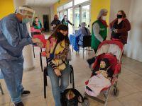 En los últimos dos días 582 personas se vacunaron contra el Coronavirus en Merlo